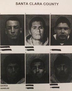 The victim viewed a photo line-up to help identify the suspects.