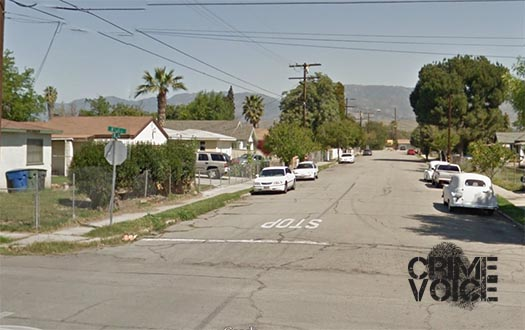 Shooting occurred down this street, the 800 block of North K Street
