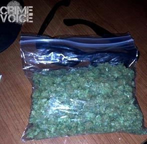 """Jamie """"Kingjames"""" Duncan posted several images of marijuana on his Facebook page, this one titled """"Day off""""."""