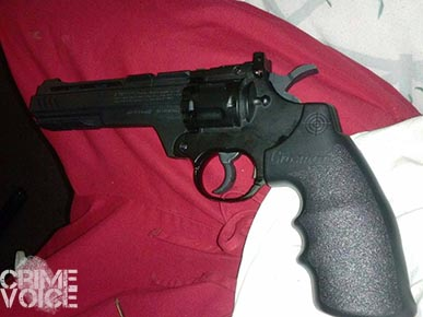 Duncan's Crosman airsoft replica gun