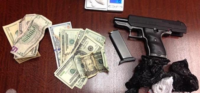 Armed drug dealer and customer nabbed in Sonoma park