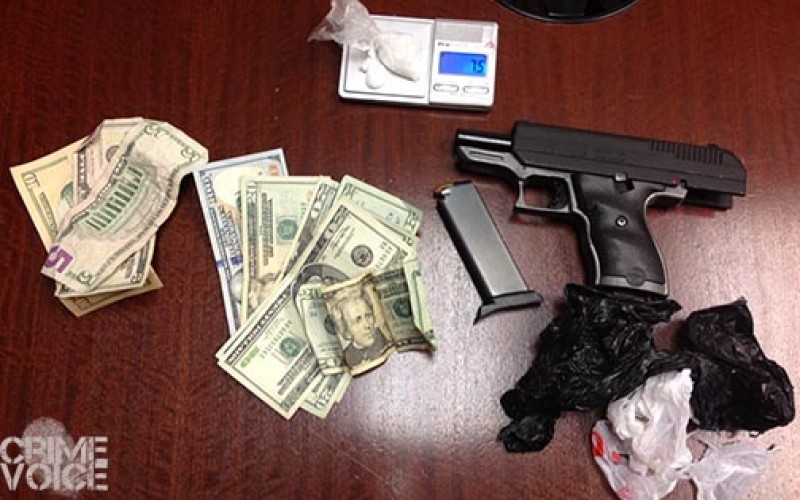 Armed drug dealer and customer nabbed in Sonoma park