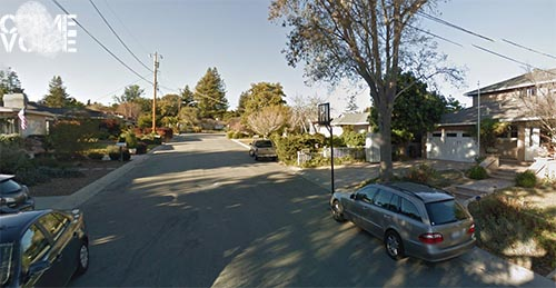 The disturbance and assault happened at a home in this Santa Cruz neighborhood.