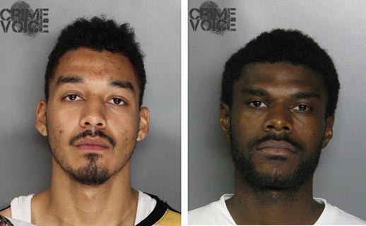 Kelly Thomas and Orlando Rhinehart were arrested in the shooting death at Peregrine Park.