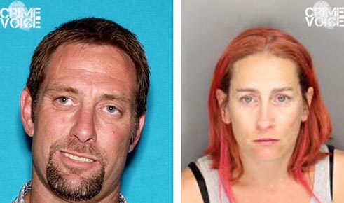 Shane Schmidt and Sandra Byrd in photos released by Place County Sheriff.