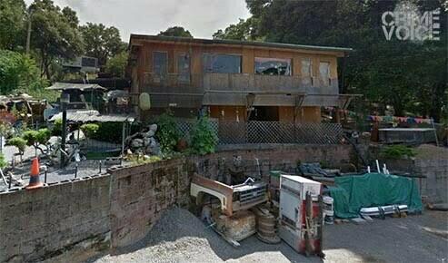 David Christensen's eccentric home in a 2012 Google Maps image.
