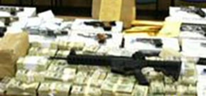 $9.3 Million in Cash & Drugs Seized in Major Cartel Drug Bust