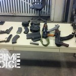 ...and even more seized weapons