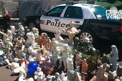 Lawn Statue Thieves Nabbed