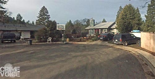 Sheriff's Deputies and Tribal Police participated in the arrest of French near the home on Acorn.