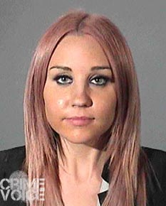 Amanda Bynes booking photo from 2012.