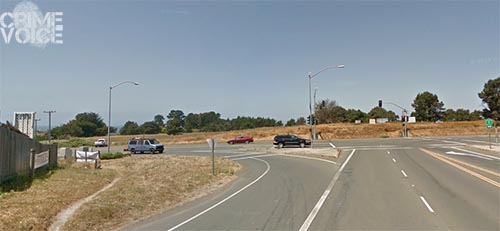 When turning from Highway 20 to Highway 1, Brockway cut far left into the opposite lanes.