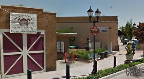 Two men enjoying Old Town Roseville were accosted by two men.