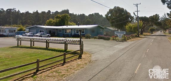 Mill Creek Road, the Cleone neighborhood where Saulsbury was found.