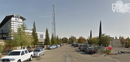 The Roseville jail is on the left, the SPCA is on the right.