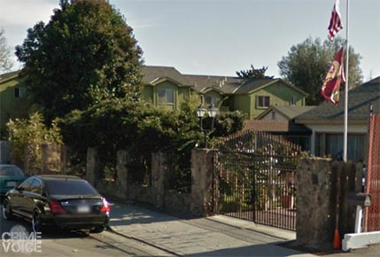 The location of the homicide on Rancho Drive in San Jose.