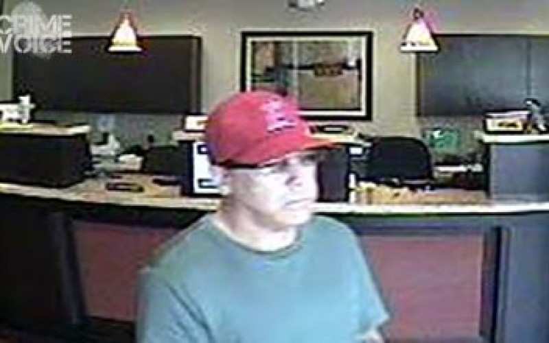 Identity of Granite Bay Bank Robber Sought