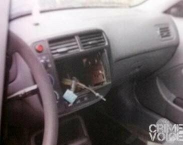 stolen stereo