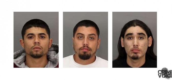 SJPD report arrest of three suspects responsible for stray bullet death