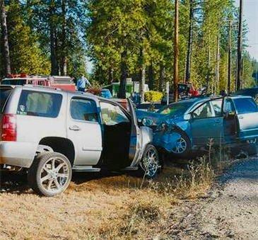Adam Duncan wreckage from the 2011 crash (Blackman Legal Group)