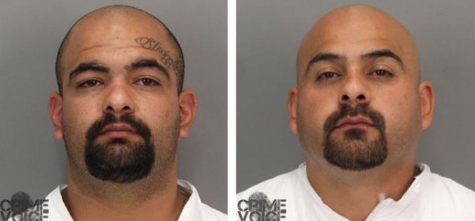 Brothers charged with violent football stadium assault