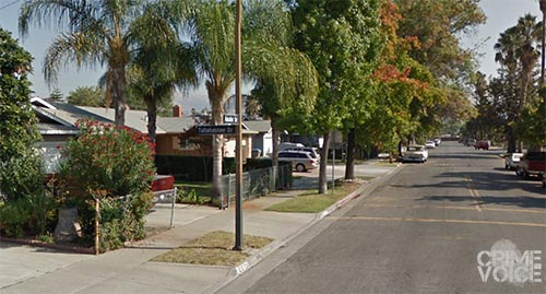Ibarez is accused of stealing a car from this neighborhood.