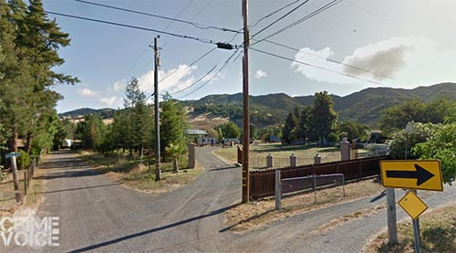 The men were spotted in this area on Colony Drive initially.