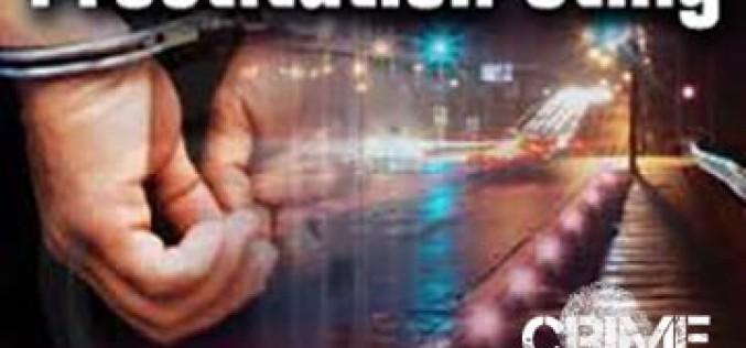 37 Arrested in Prostitution Sting