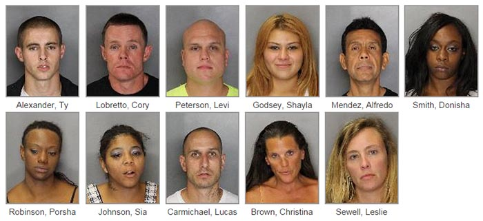 sac prostitution sting mugshots