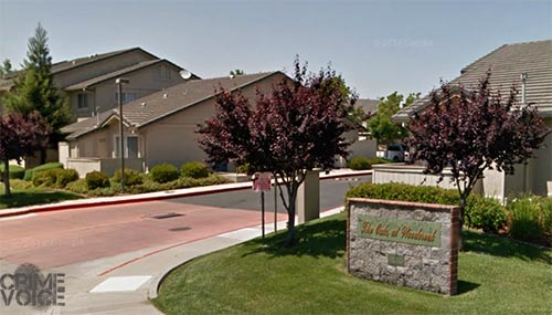 Corey and Nicholas Lewis stole bikes from this apartment complex in Roseville.