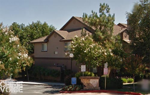 The burglary and car theft happened at an apartment on Vallejo Ave in Roseville.
