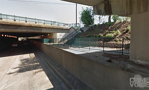 The Washington Blvd. underpass in Roseville