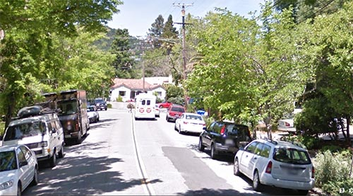 The victim was seen on Mission Avenue in sAn Rafael.