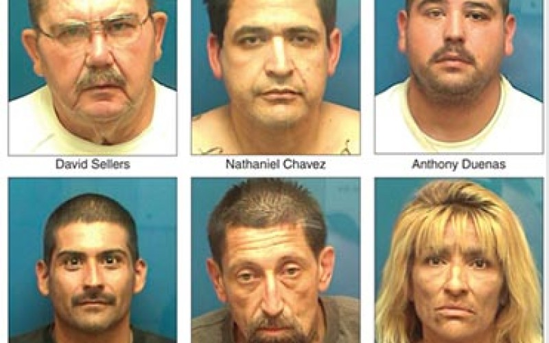 Probation Sweep Nets Six Arrests