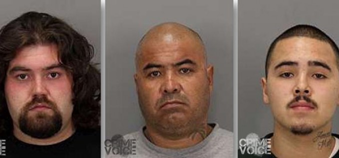 Trio arrested in gang related shooting