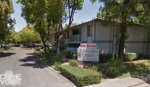 The botched robbery and murder happened in the parking lot of this Vacaville apartment complex.