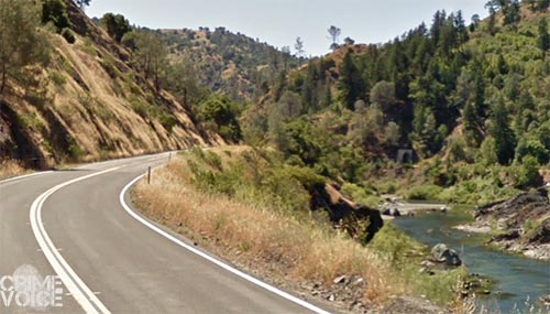 Marshall drove his truck off Highway 162 to the Eel River basin