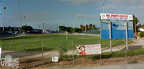 The Police Activities League sports complex in San Jose.