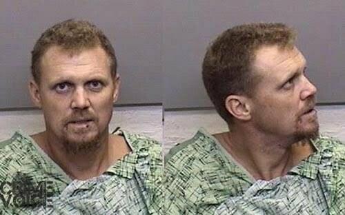 Terrell James Marshall Jr., Mendocino County booking photo.
