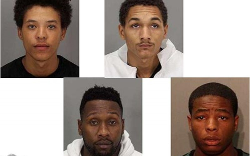 SJPD announces the arrest of four gold chain theft suspects
