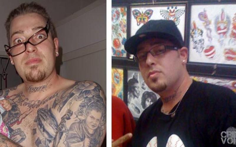 Tattoo artist or vandal?