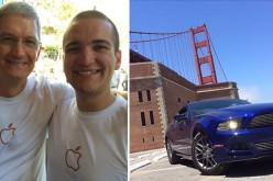 "Soused ""Apple specialist""  drives car onto Golden Gate Bridge walkway, gets stuck, gets arrested"