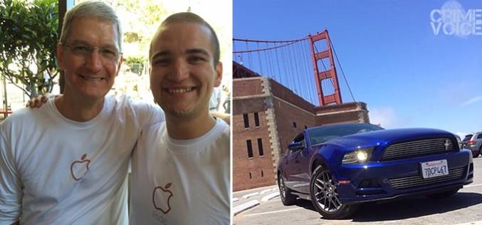 "Soused ""Apple specialist""  drives car onto Golden Gate Bridge walkway, gets stuck, gets arrested"