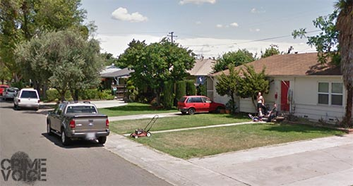Police responded to reports of a disturbance at Lua's home in this Stockton  neighborhood.