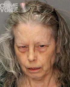 Barbara Holland booking photo.