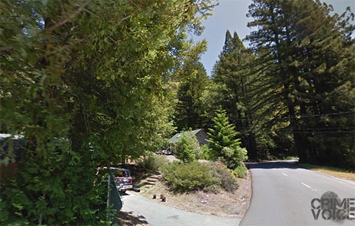 Shannon and his victim shared a home on Birch Street, in the wooded hills north of Willits.