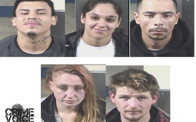 Five Arrested in Two Vehicle Theft Cases in Fresno County