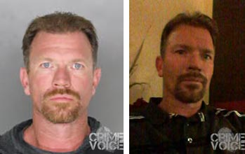 Robert Lee Moore, booking photo and Facebook image.