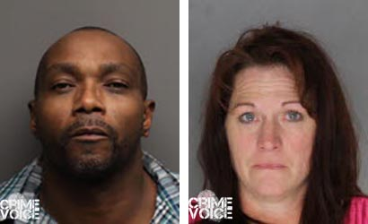O'Neal and Shell, Placer County booking photos.