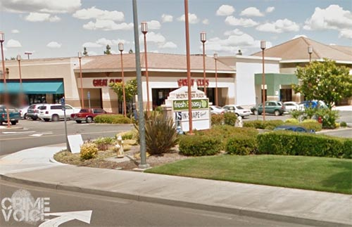 Gray was seen checking out cars at the Regency Park Plaza.